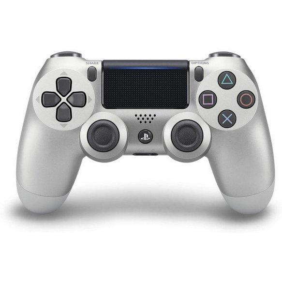 Retail New Ps4 Dual Shock 4 Wireless Controller Silver