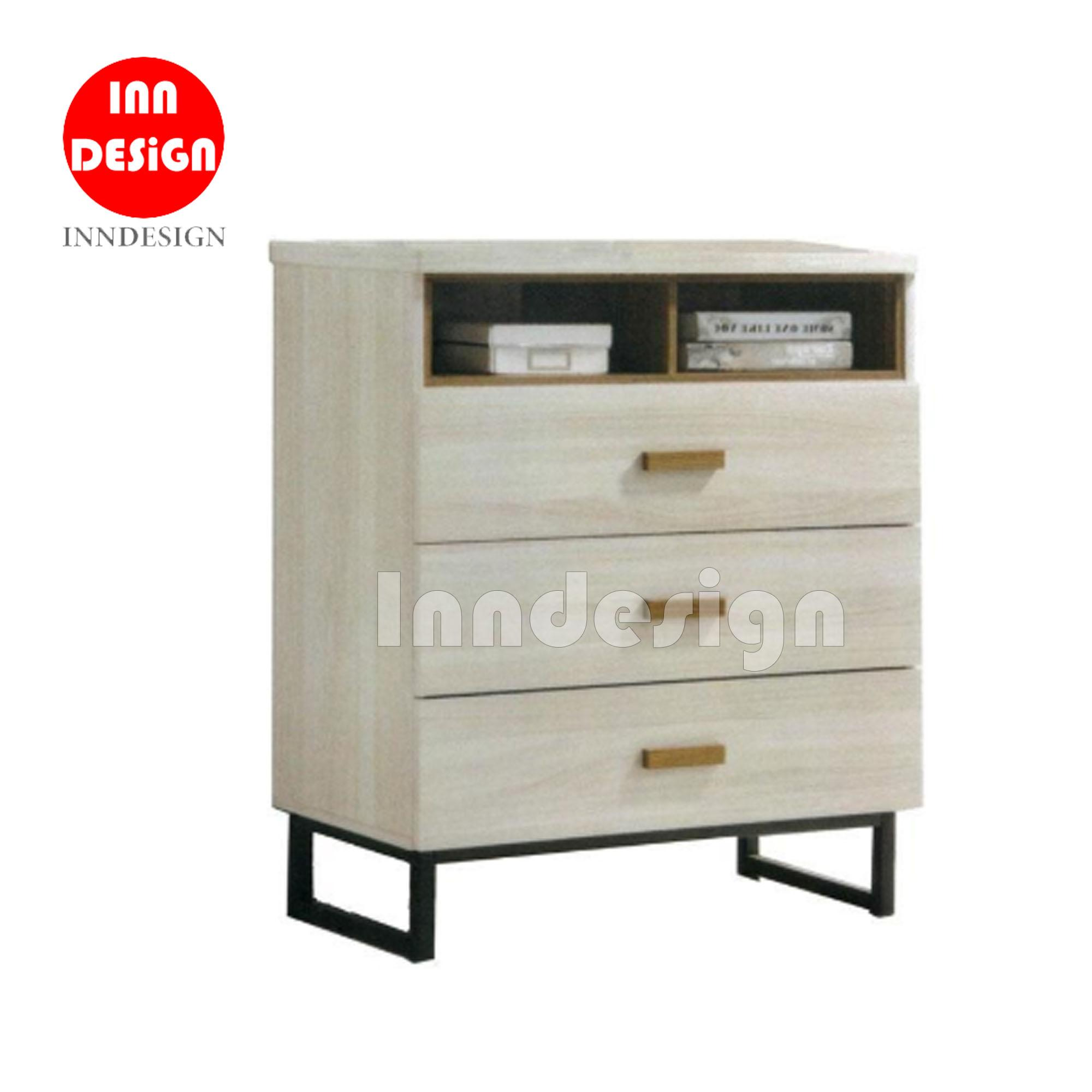Barton 2+3 Chest of Drawer with Metal Leg