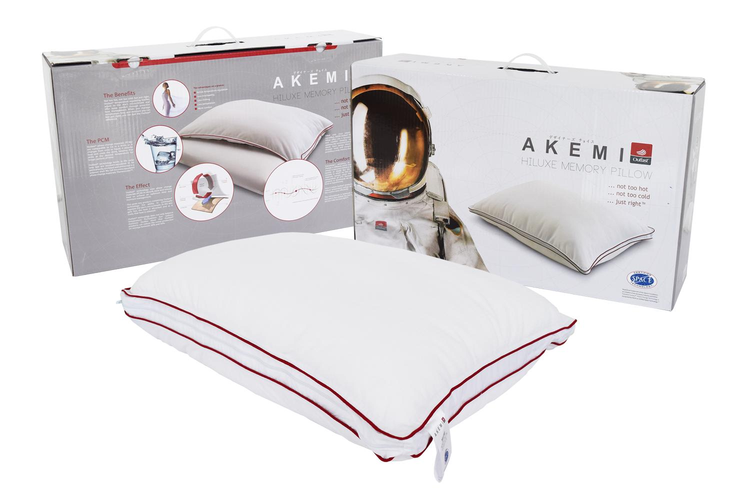 Sale Akemi Outlast Hiluxe Memory Pillow Online Singapore