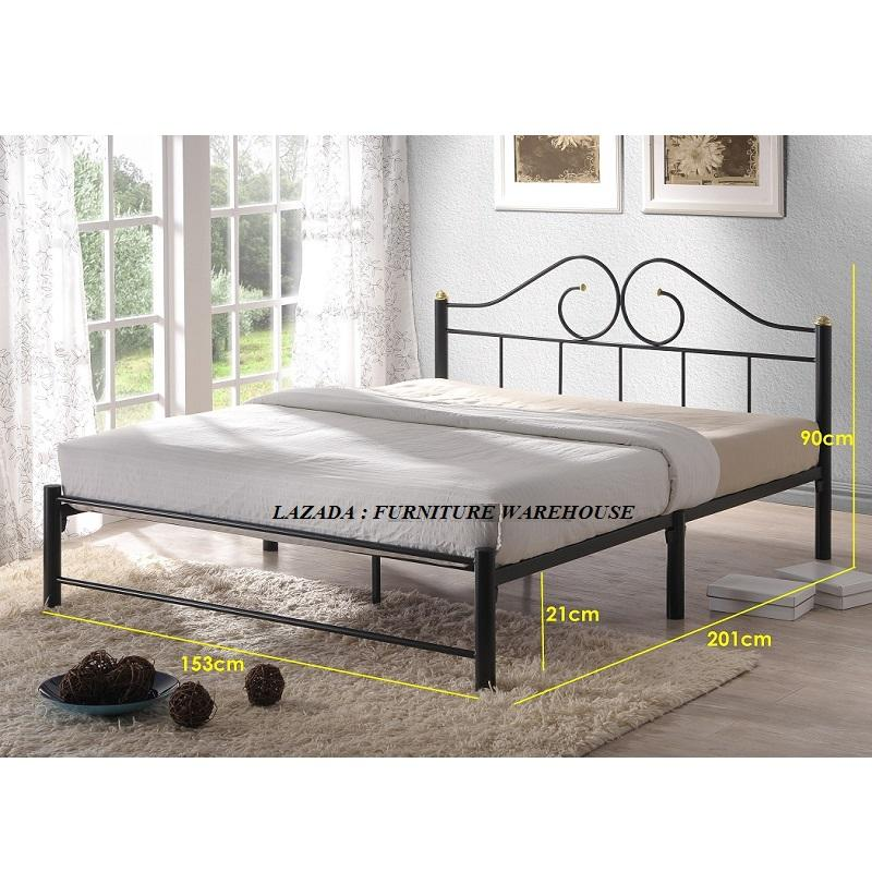 Ariana Queen Size Metal Bed Frame