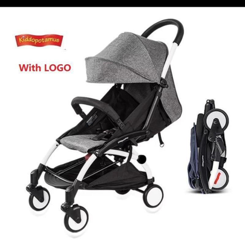 Most Popular Cabin Size Ultra Lightweight Baby Stroller - Grey Color Singapore