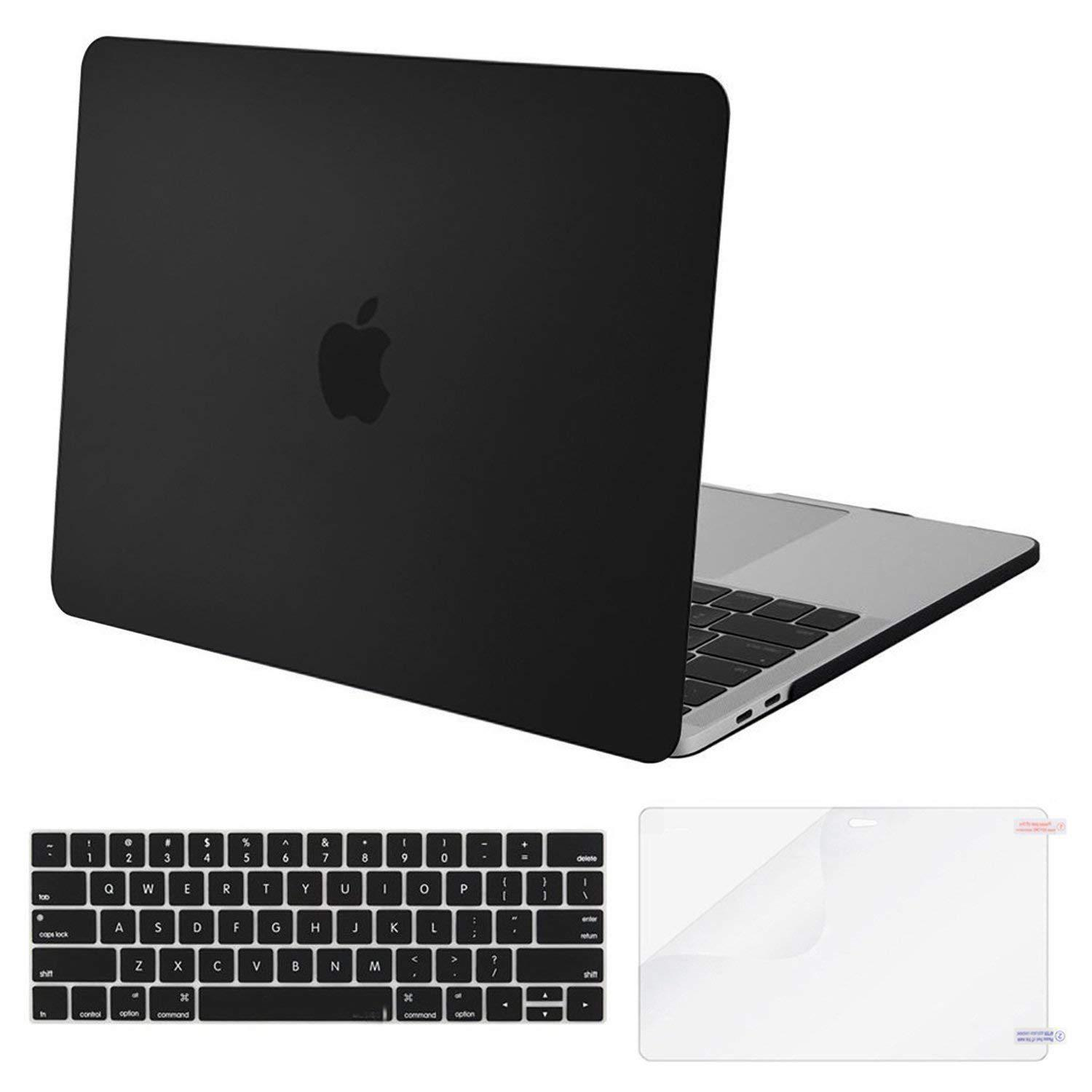 MoKo MacBook Pro 13 Case 2018/2017/2016, Slim PC Matte Frost Hard Shell Cover with Keyboard Cover with Screen Protector for Newest Release 2018/2017/2016 MacBook Pro 13 inch A1706 / A1708