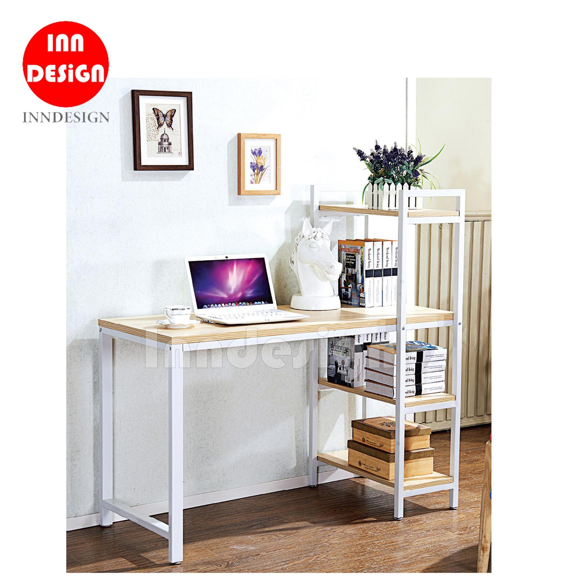 Ken Study Table with Shelf