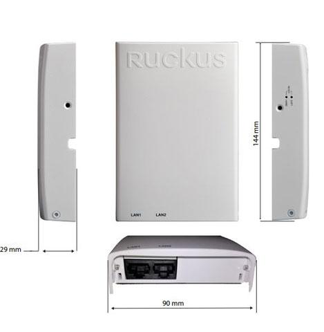 Ruckus H320 Wall Mount 802 11ac Wave 2 Wi-Fi Access Point