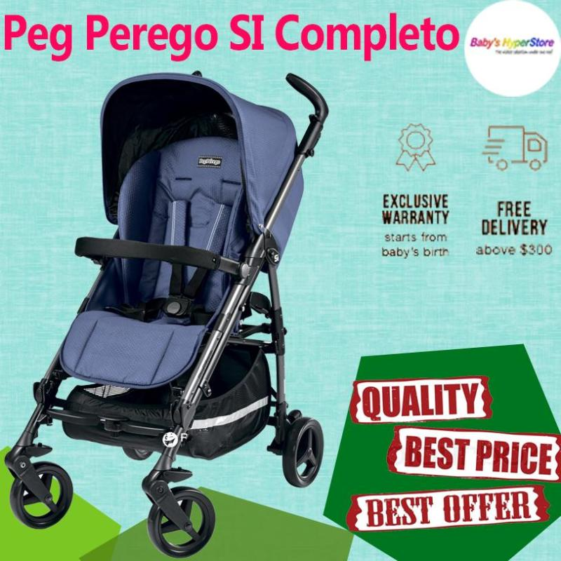 Peg Perego SI Completo Stroller - MADE IN ITALY - Local seller warranty 1 YEAR Singapore