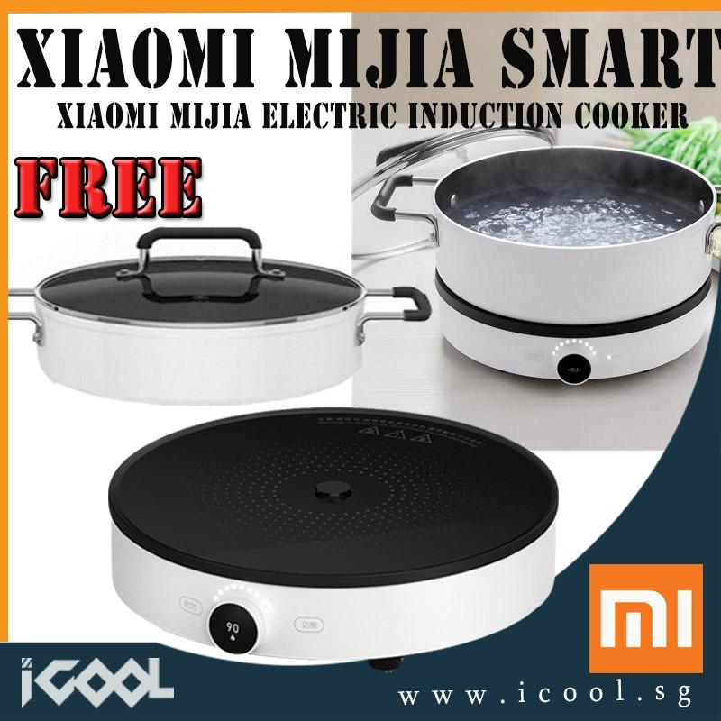 Sale 【Free Mijia Soup Pot 4L 】Xiaomi Mijia Electric Induction Cooker App Control Oled Display Automatic Adjustable Heat Constant Xiaomi Cheap
