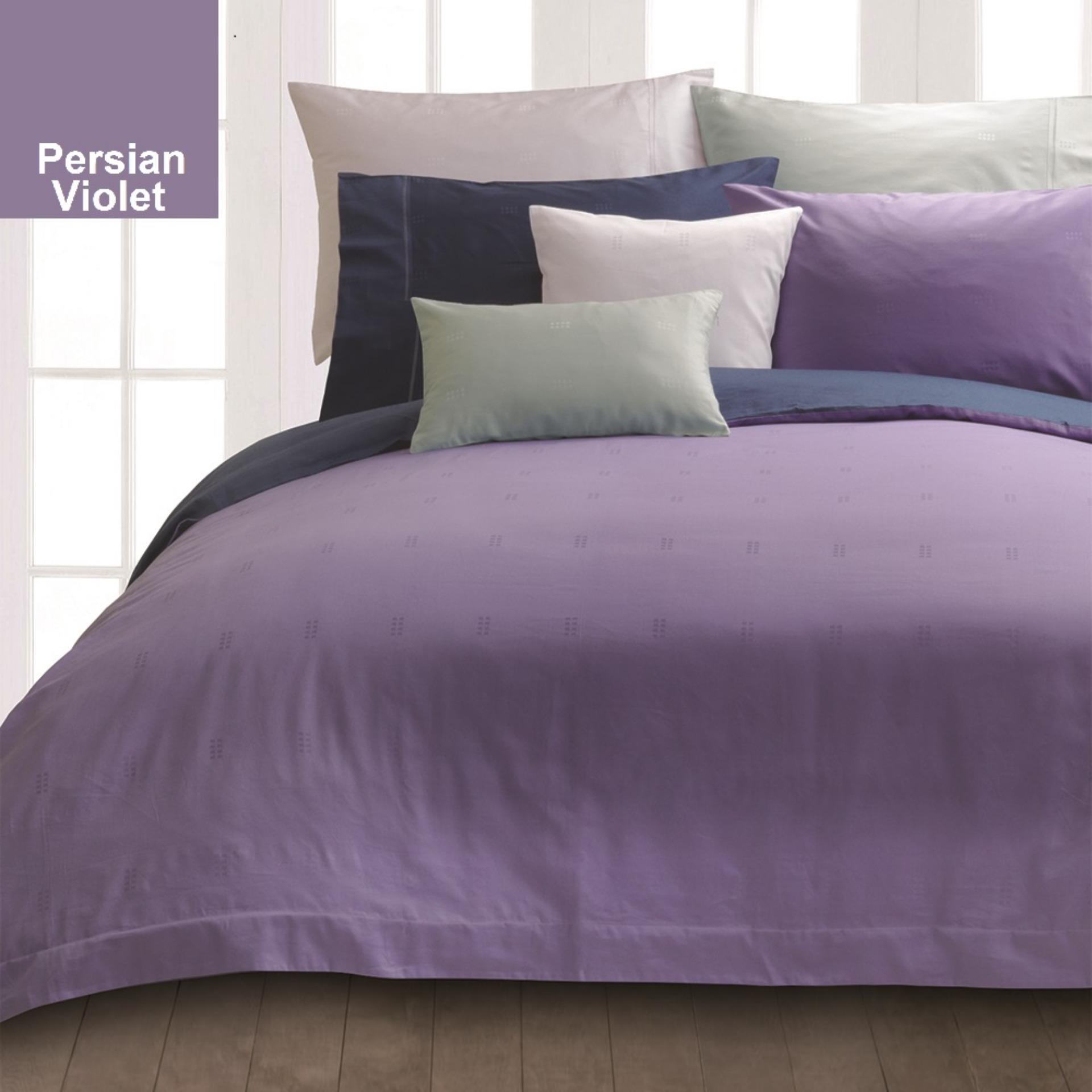 Get Cheap Akemi Cotton Select Affinity Dylan Box Persian Violet Quilt Cover Set