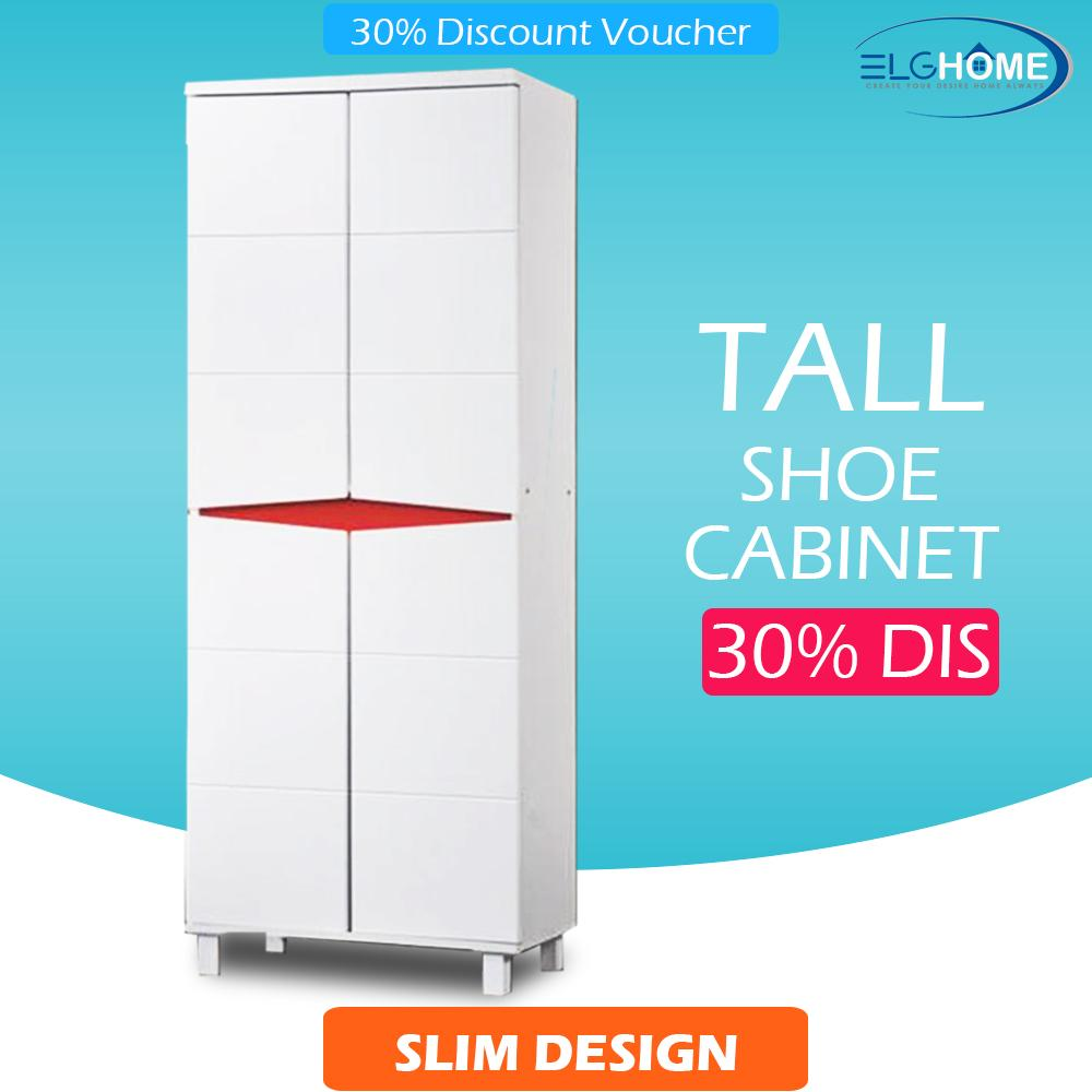 Great Deal Omaki Entryway Shoe Storage Cabinet Tall Free Install Delivery