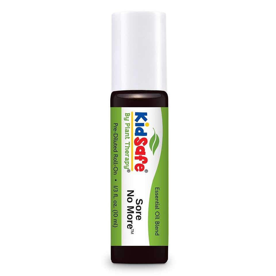 Plant Therapy KIDSAFE Synergy Blend Pre-diluted Roll-on - Sore No More, 10ml