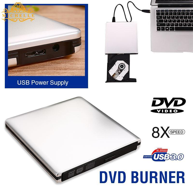SAMSUNG HP DVD Optical Drive CD Drive Portable Ultra Slim USB 3.0 Burner