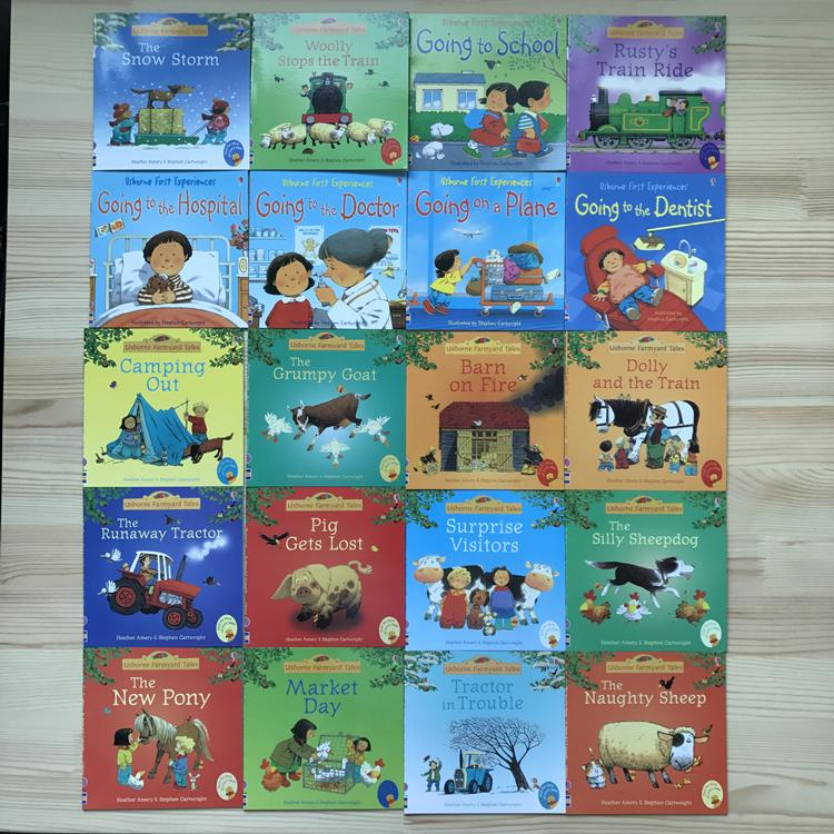Usborne Farmyard Tales And First Experiences Series (20 Books) By Onecube.