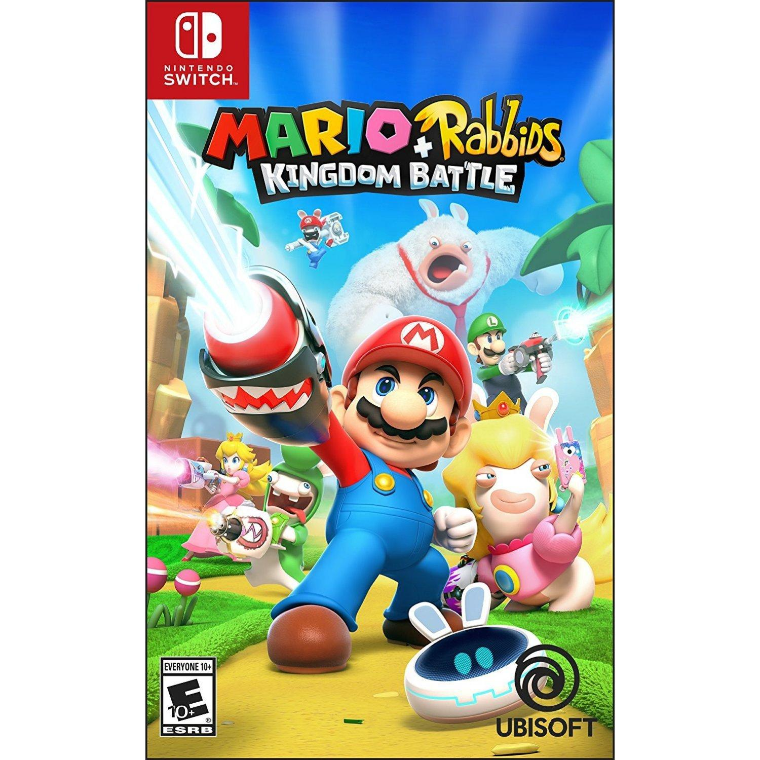 Review Nintendo Switch Mario Rabbids Kingdom Battle Eur R2 On Singapore