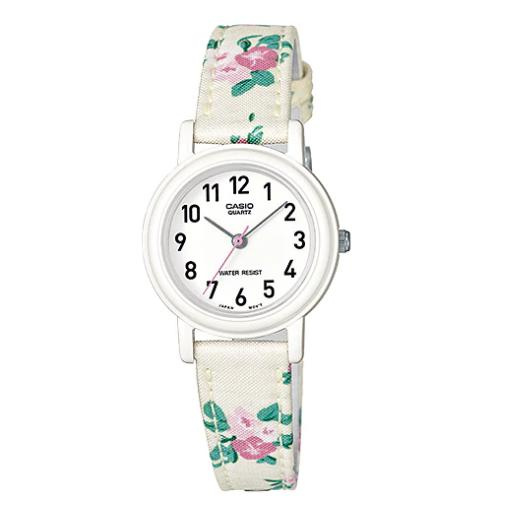 Casio Women S White Pu Strap Watch Lq 139Lb 7B2 For Sale Online