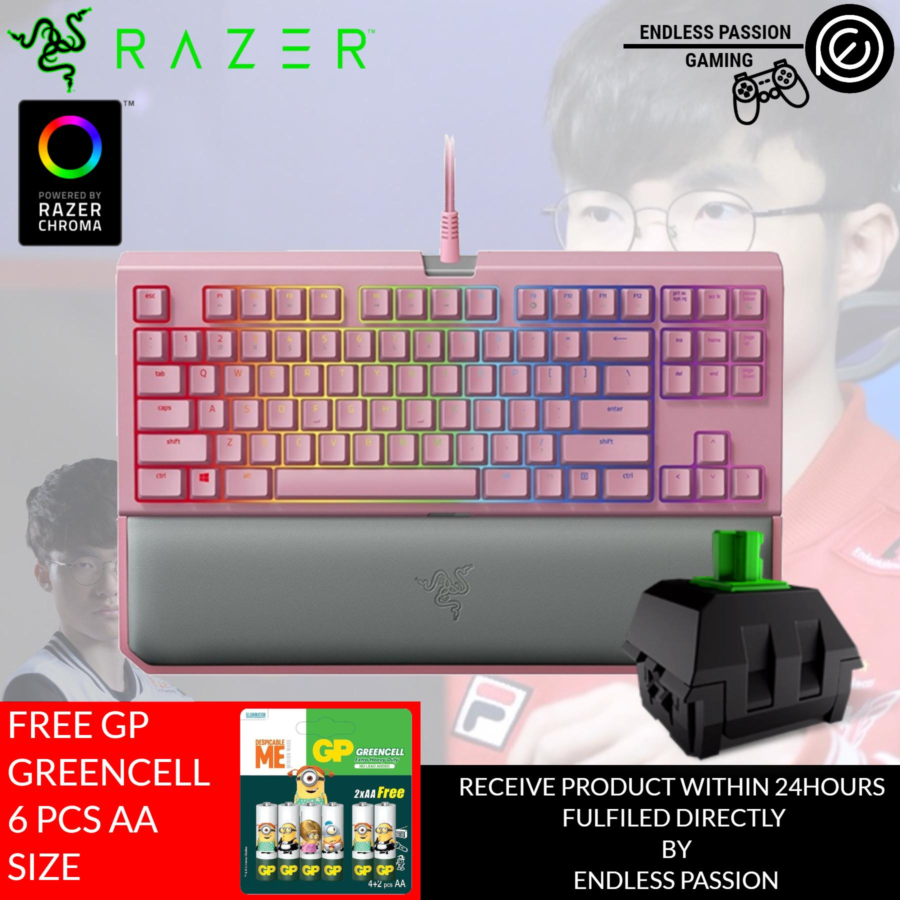 0e48e39dda6 Singapore. Razer BlackWidow Tournament Edition Chroma V2 Quartz Edition