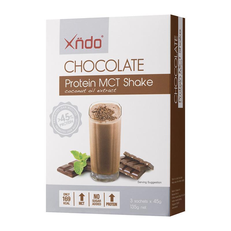 Xndo - Chocolate Protein Mct Shake 3s By Xndo (capitaland Merchant).