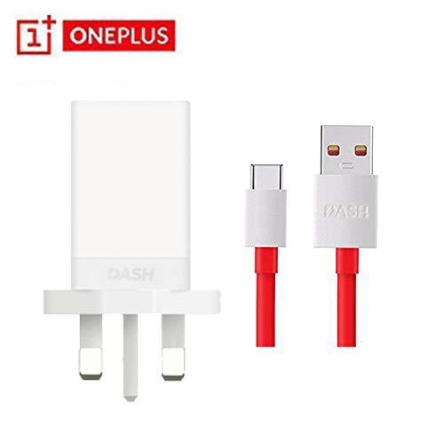 OnePlus Dash Charger Fast Charge USB Power Adapter Wall Charger with Original Type C Cable -