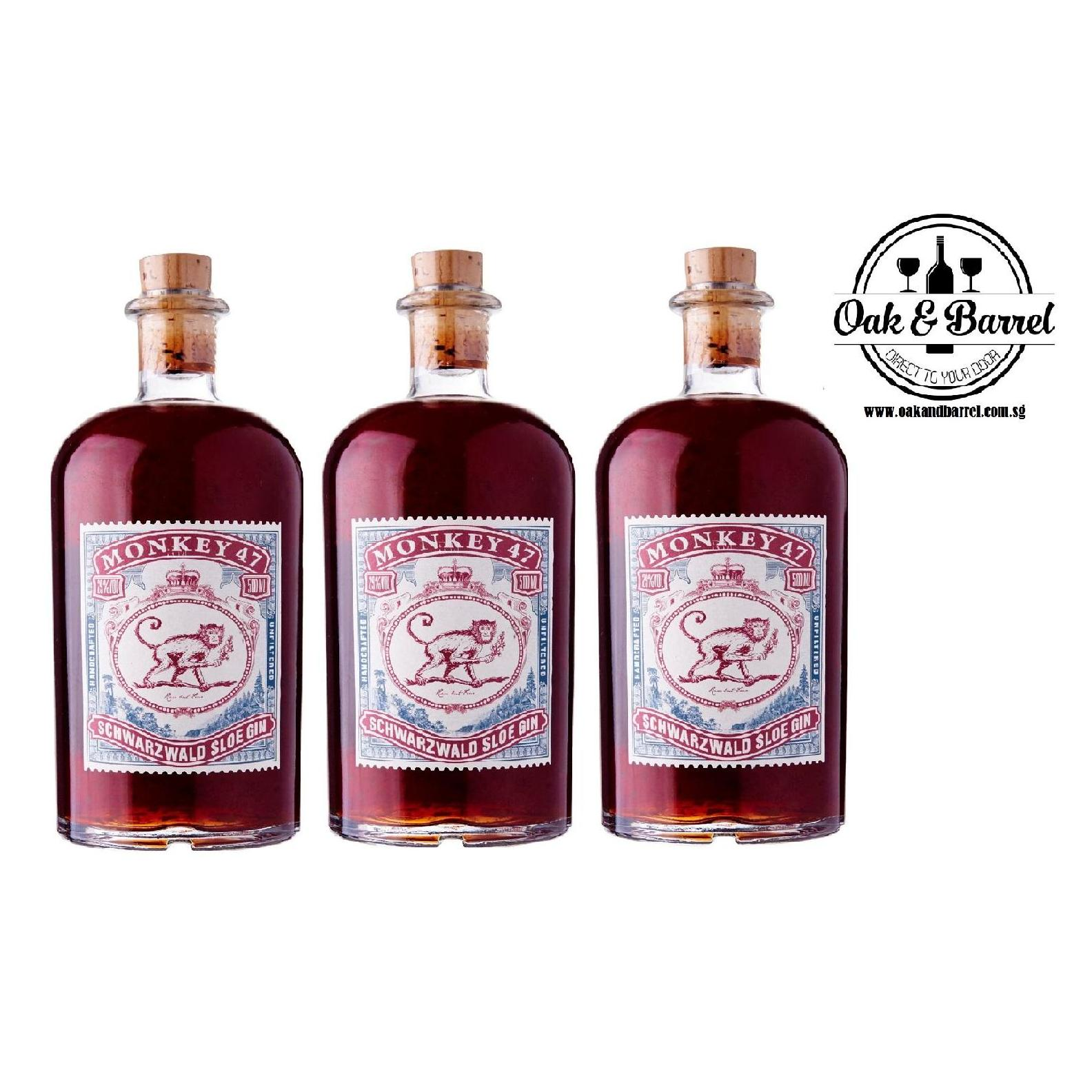 Monkey 47 Gin 500Ml X 3 In Stock