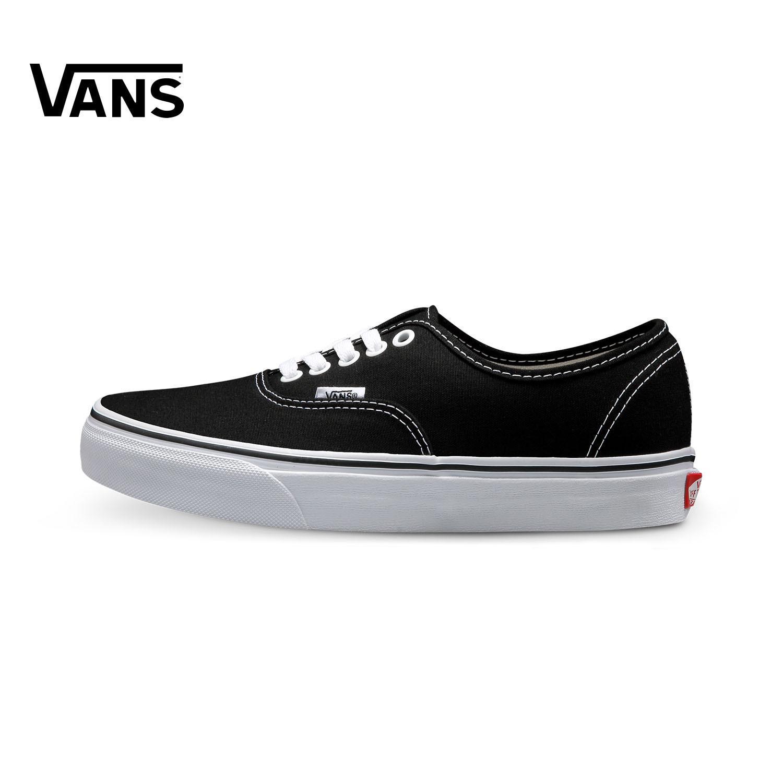 6da284f2 Vans Men's Shoes Classic Style Low Top Canvas Shoes Vans Women's Shoes  VN-0EE3BLK BLACK&WHITE Sneakers