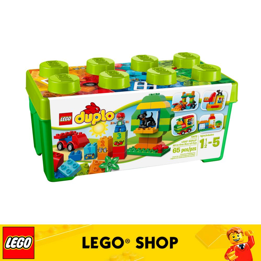 LEGO Duplo Creative Play 10572 All-in-One-Box-of-Fun, Open Ended Toy for  Imaginative Play with Large Bricks Made for Toddlers and preschoolers (65
