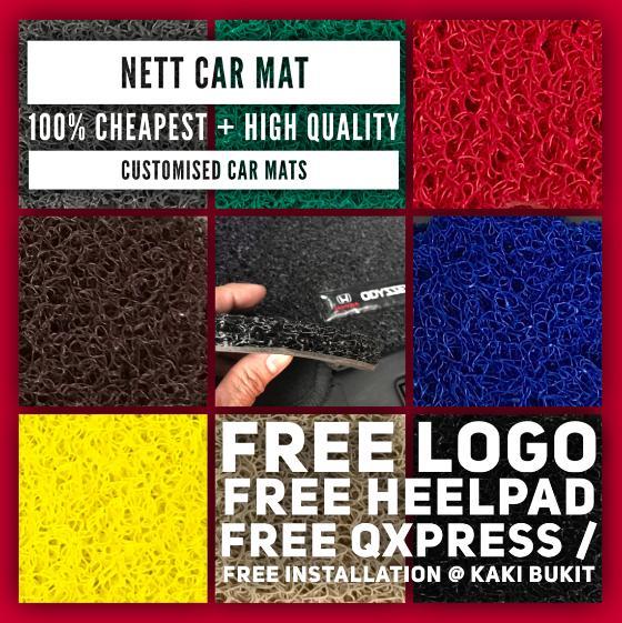 Customised Car Mats For Sedan/hatchback/suv By Nett Nett Club.