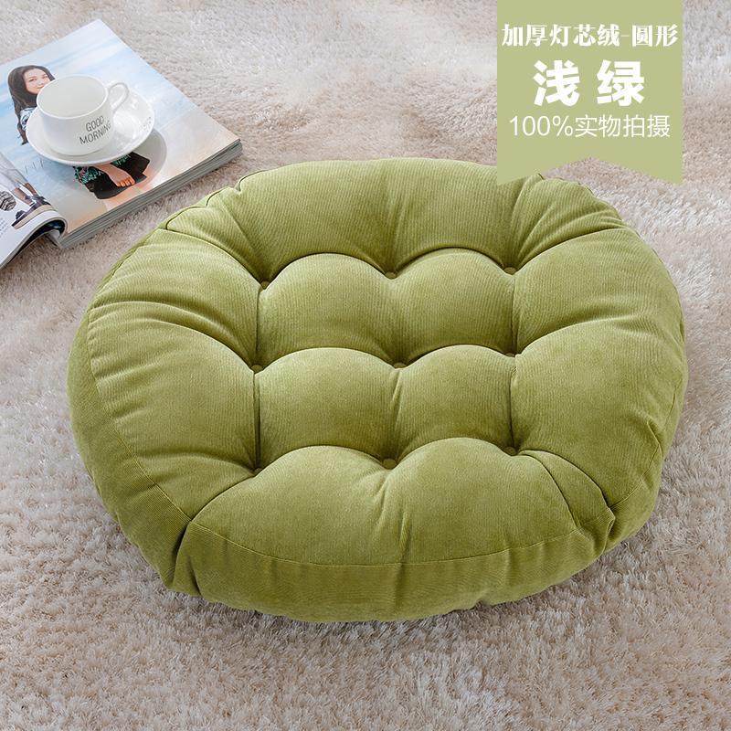 Corduroy teahouse club yoga cushion futon.