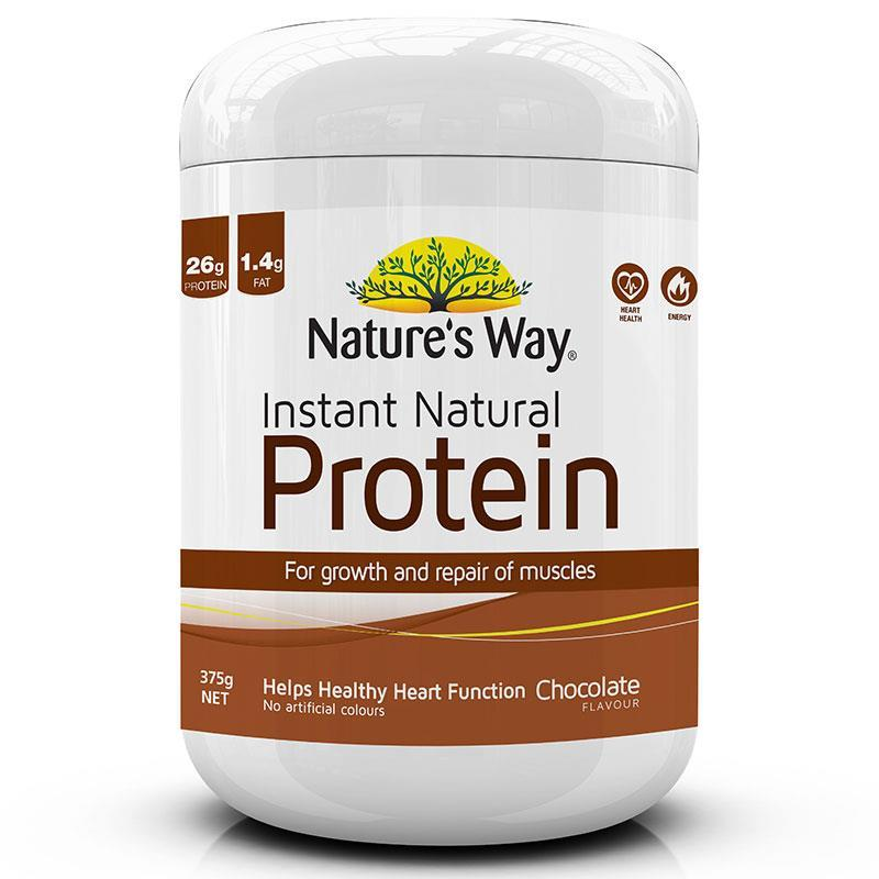 Natures Way Instant Natural Protein (inp) Powder Chocolate Flavour 375g Jun 2020 By Barryhomefix.