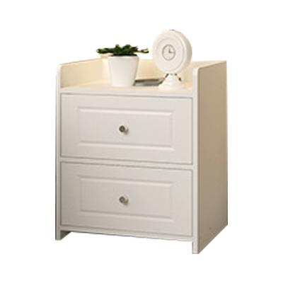 JIJI (KARIN Bedside Table - Dual drawer) (Free Installation) / Bedside Table / Side Table / Drawer / Storage Drawer / 12 Month Warranty / (SG)