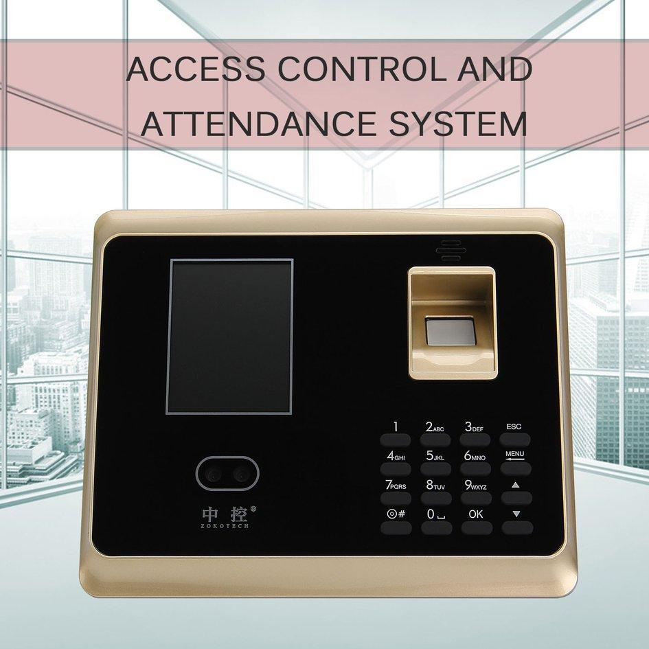 COYEN Face Recognition Attendance Fingerprint Management Access Control System