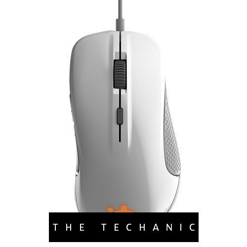 STEELSERIES RIVAL 300 GAMING MOUSE WHITE