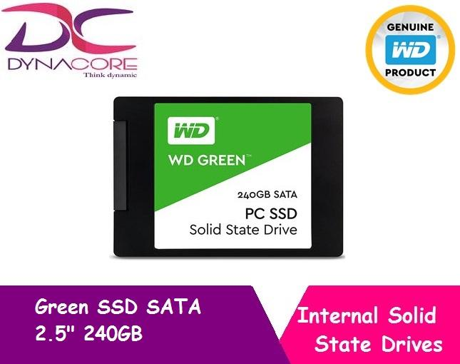Review Wd Green Ssd Sata 2 5 240Gb Wd On Singapore