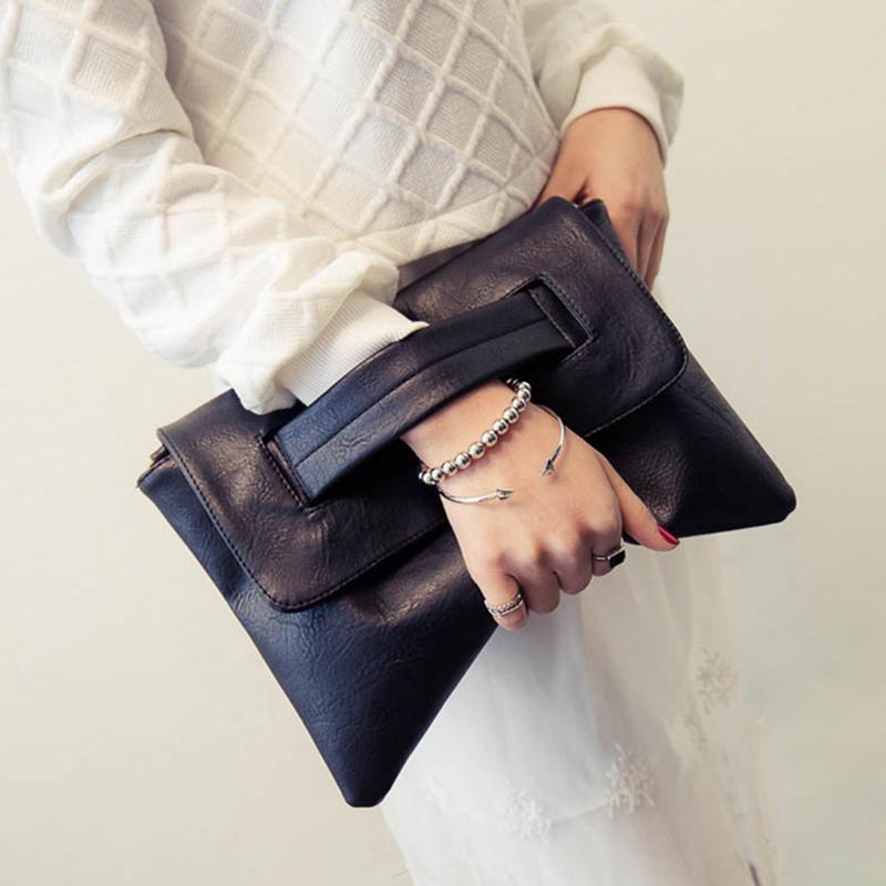 Korean Style Womens Bag 2019 New Style Womens Bag Womens Trendy Bag Large Capacity Simple Clutch Bag Envelope Fashion