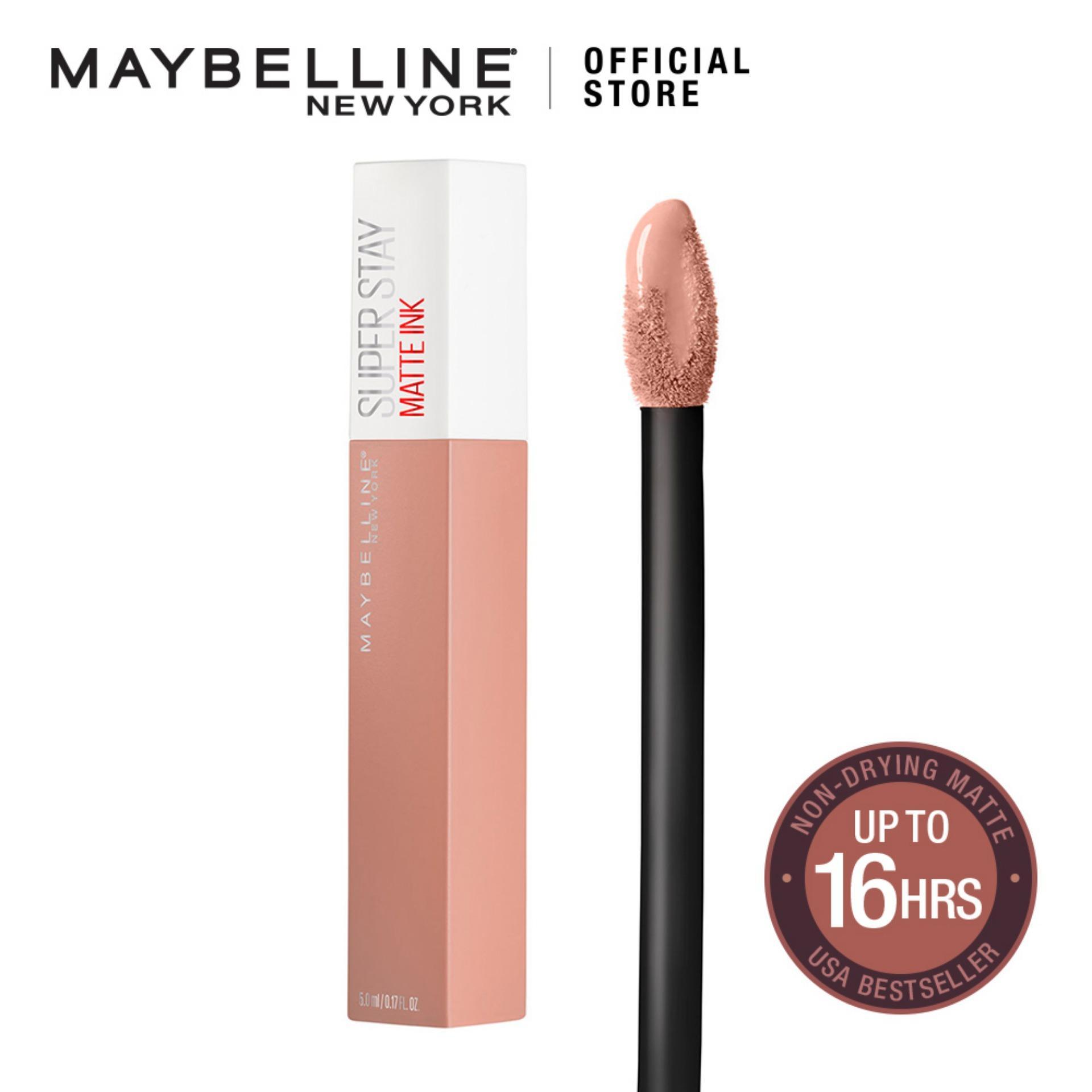 Superstay Matte Ink Un-Nudes Liquid Lipstick - (16h Waterproof) By Maybelline By Maybelline.