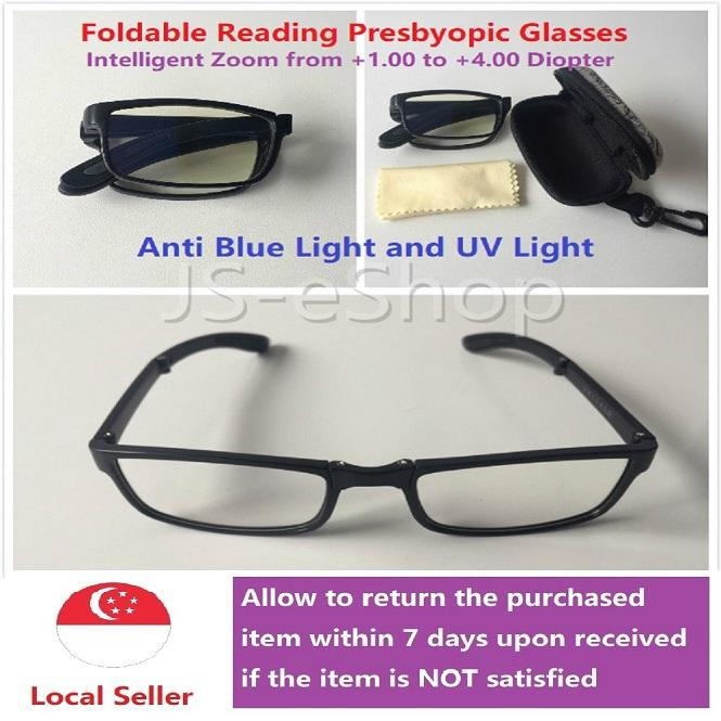 Affordable Anti fatigue Folding Handy Reading Glasses Presbyopic Source · Foldable Intelligent Zoom Adult Unisex Reading