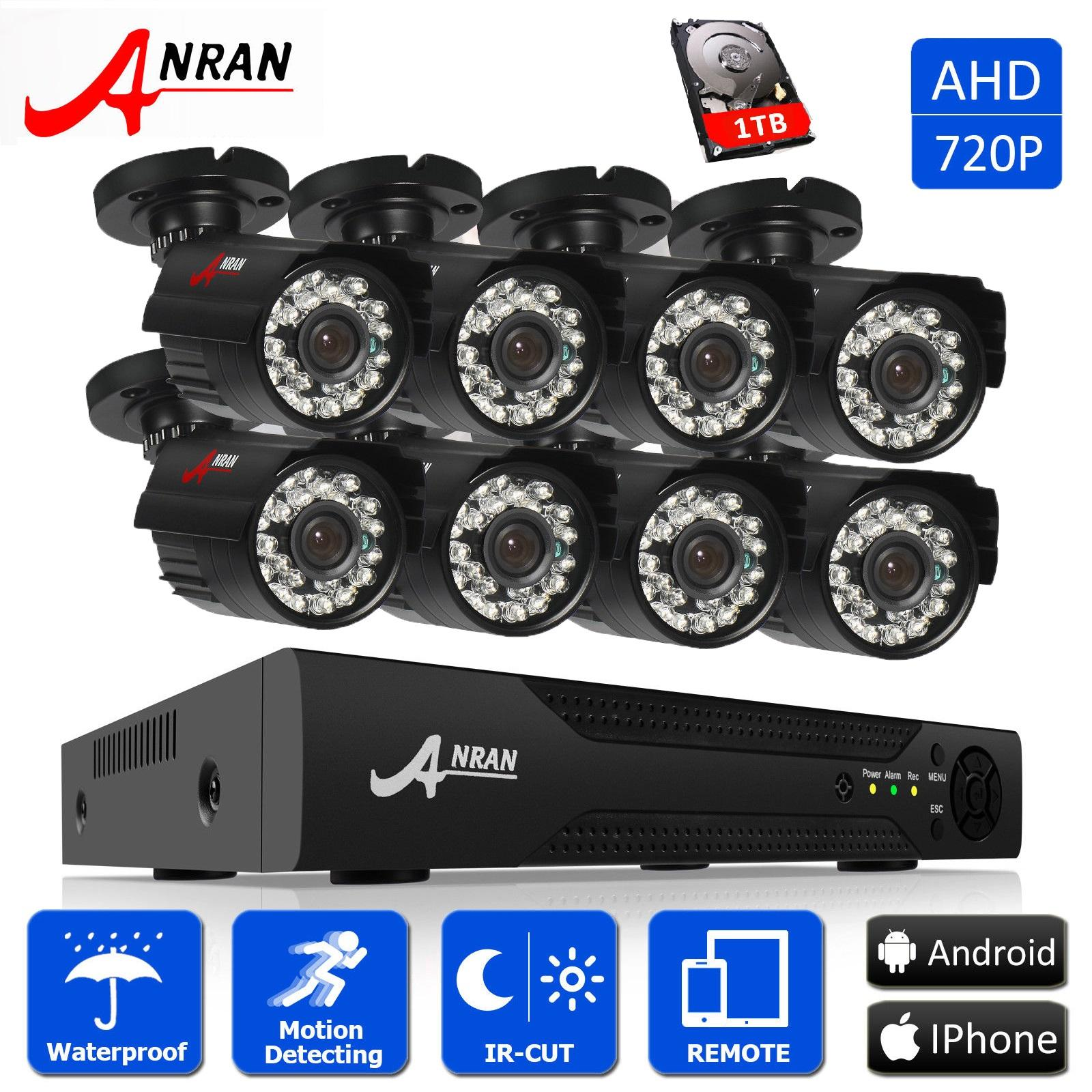 How To Buy Anran 8Ch 720P Ahd Cctv Dvr Security System With 8Pcs 1800Tvl Outdoor Night Vision Bullet Cameras