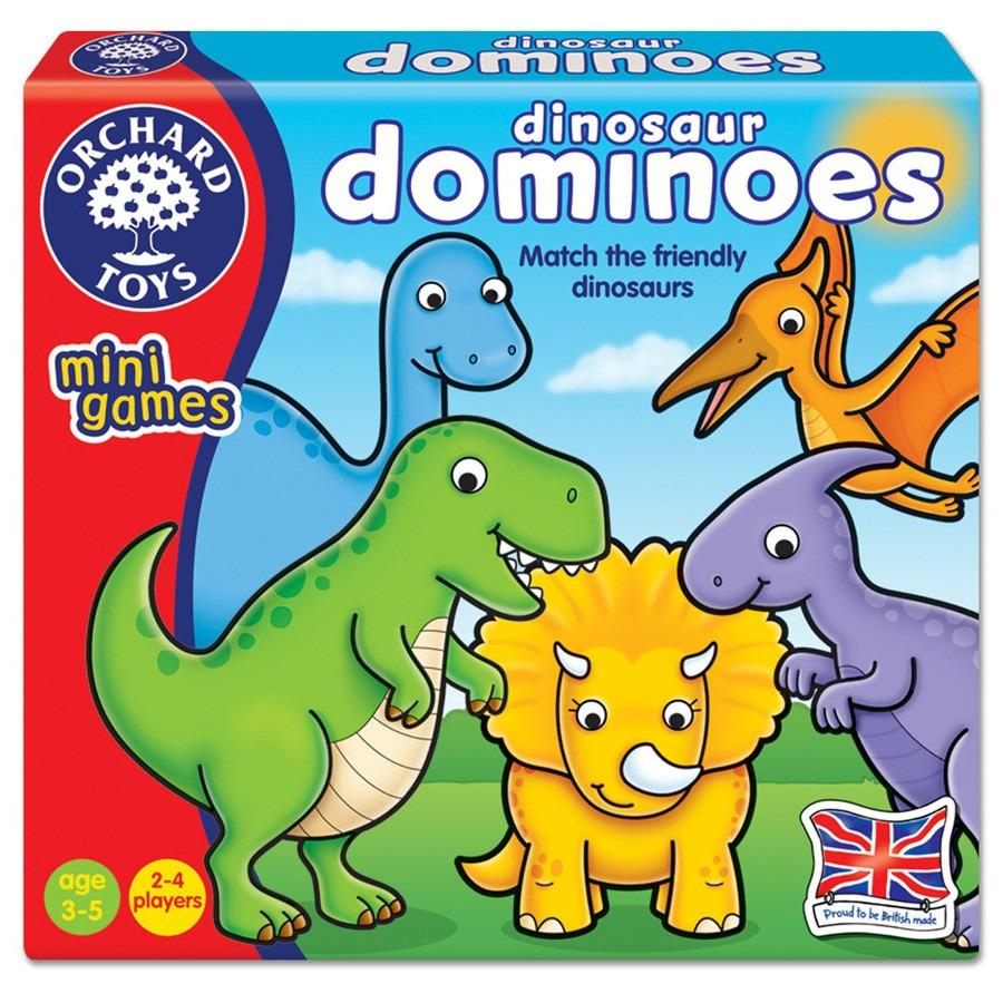 Price Orchard Toys Mini Games Dinosaur Dominoes Orchard Toys Singapore