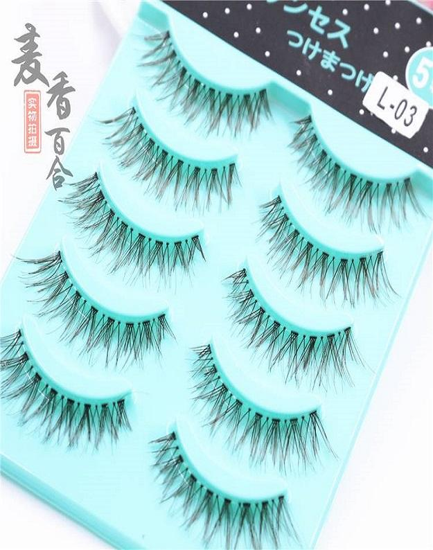 Luxury Eyelashes-L07(l03) By Jolly Sg.