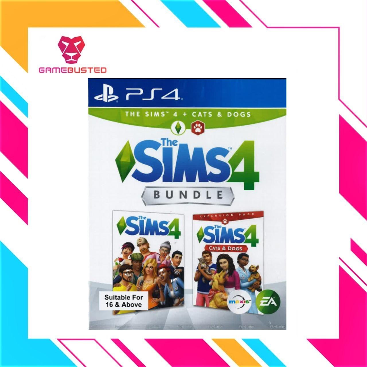 PS4 The Sims 4 Cats and Dog Bundle(R3)
