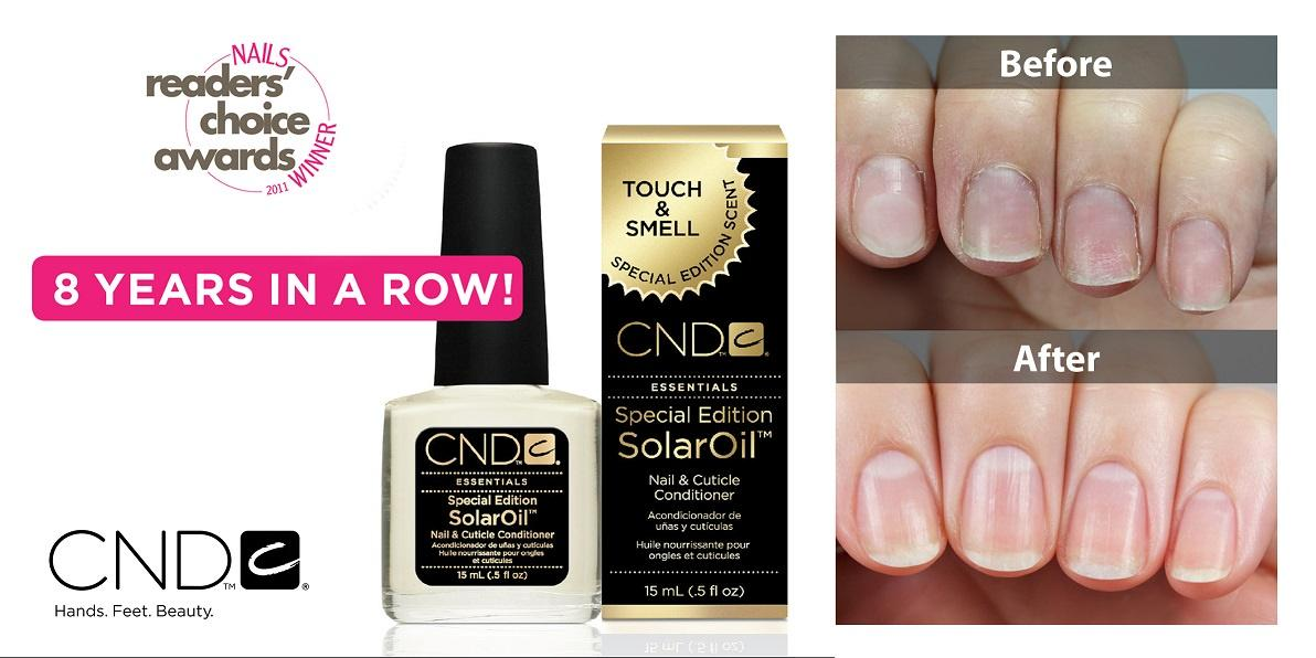 Cnd Solar Cuticle Oil (15ml) By Johnnybeautyandnails.