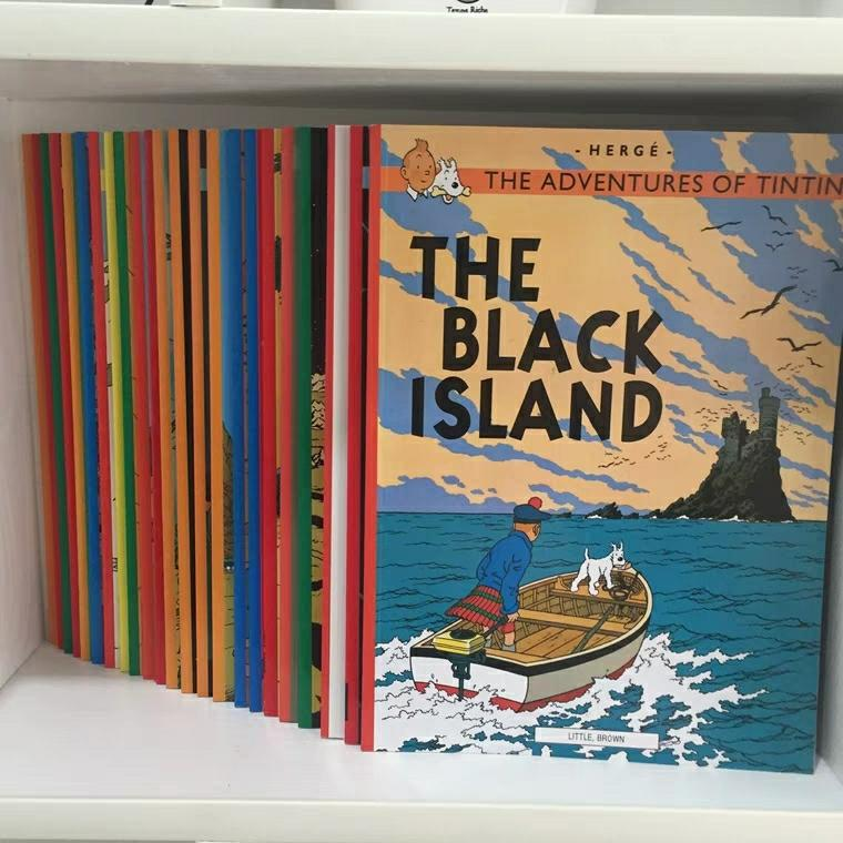 [SG Ready Stock] The adventures of TINTIN (23 books) c1 c2
