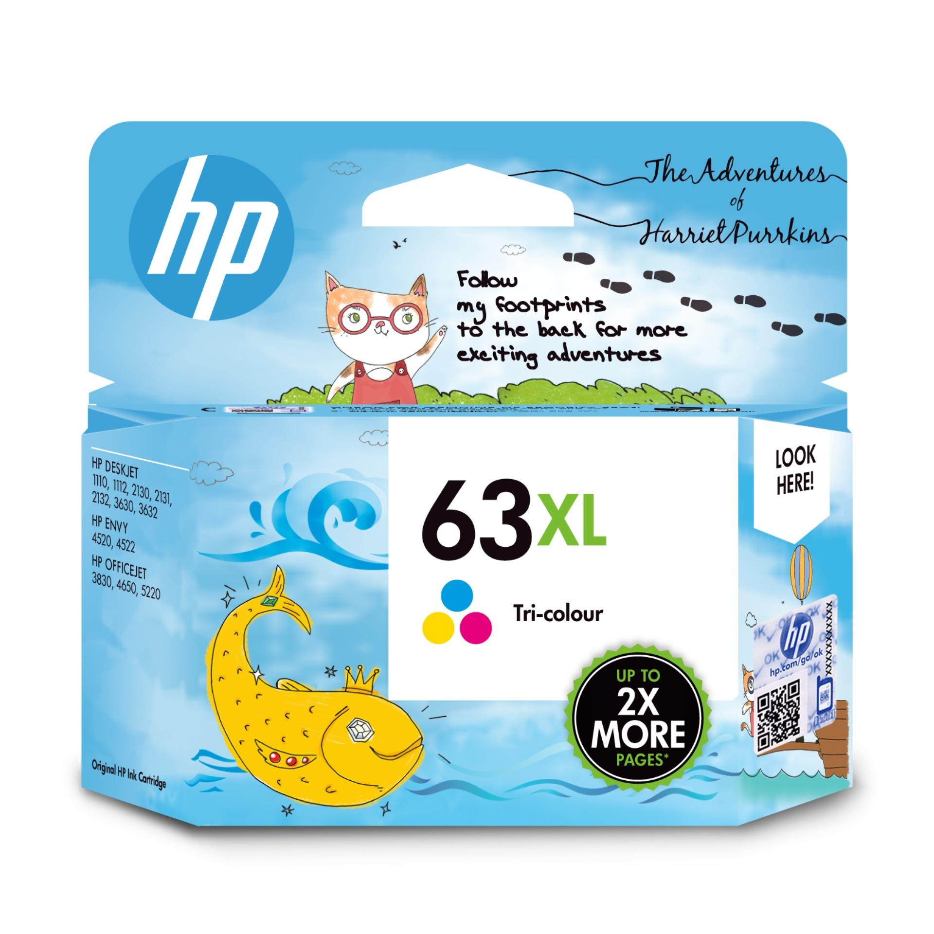 Buy Hp 63Xl Tri Color Ink Cartridge Singapore