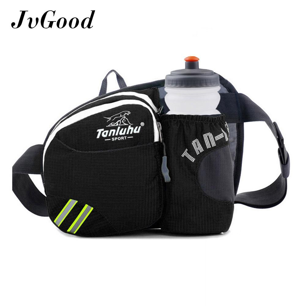 Shop For Jvgood Sports F*nny Pack Lightweight Waist Bag Hip Bum Bag With Water Bottle Holder Ourdoors Workout Traveling Casual Running Hiking Cycling With Water Sport Bottle