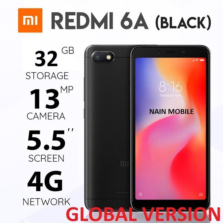 ✔ 2018 Xiaomi Redmi 6A {GLOBAL VERSION} 32GB/16GB BLACK/GOLD/BLUE