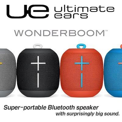 661e0d0fbd4 Ultimate Ears UE WONDERBOOM Super Portable Waterproof Bluetooth Logitech  Speaker ( Phantom Black Subzero Blue Fireball