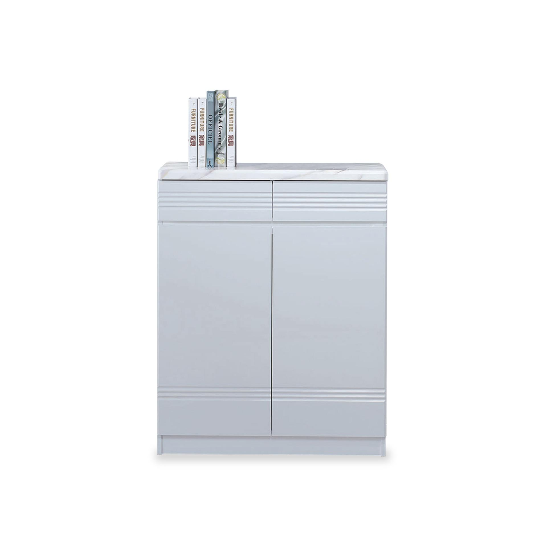 Myriam 2 Door Shoe Cabinet (FREE DELIVERY)(FREE ASSEMBLY)