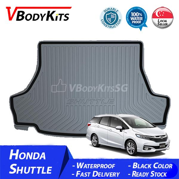 Price High Quality Honda Shuttle 2016 17 18 3D Waterproof Car Bootliner Boot Tray Cargo Tray Trunk Mat Oem Original