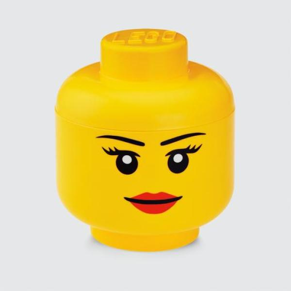 LEGO Iconic Storage Head (L)- Girl