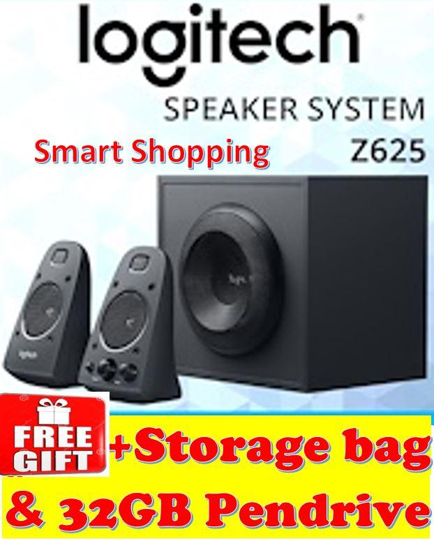 [FREE GIFT] Logitech Z625 Speaker System With Subwoofer And Optical Input Z 625 980-001297