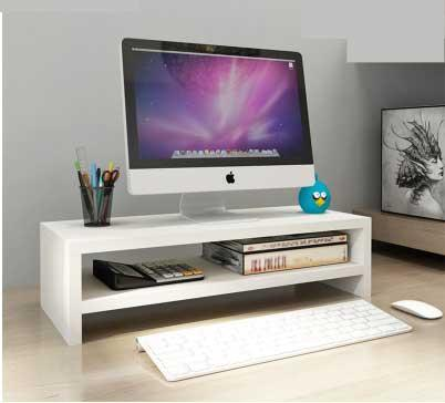 Yijie 2 Levels Wooden LCD/LED monitor Ergonomic Stand
