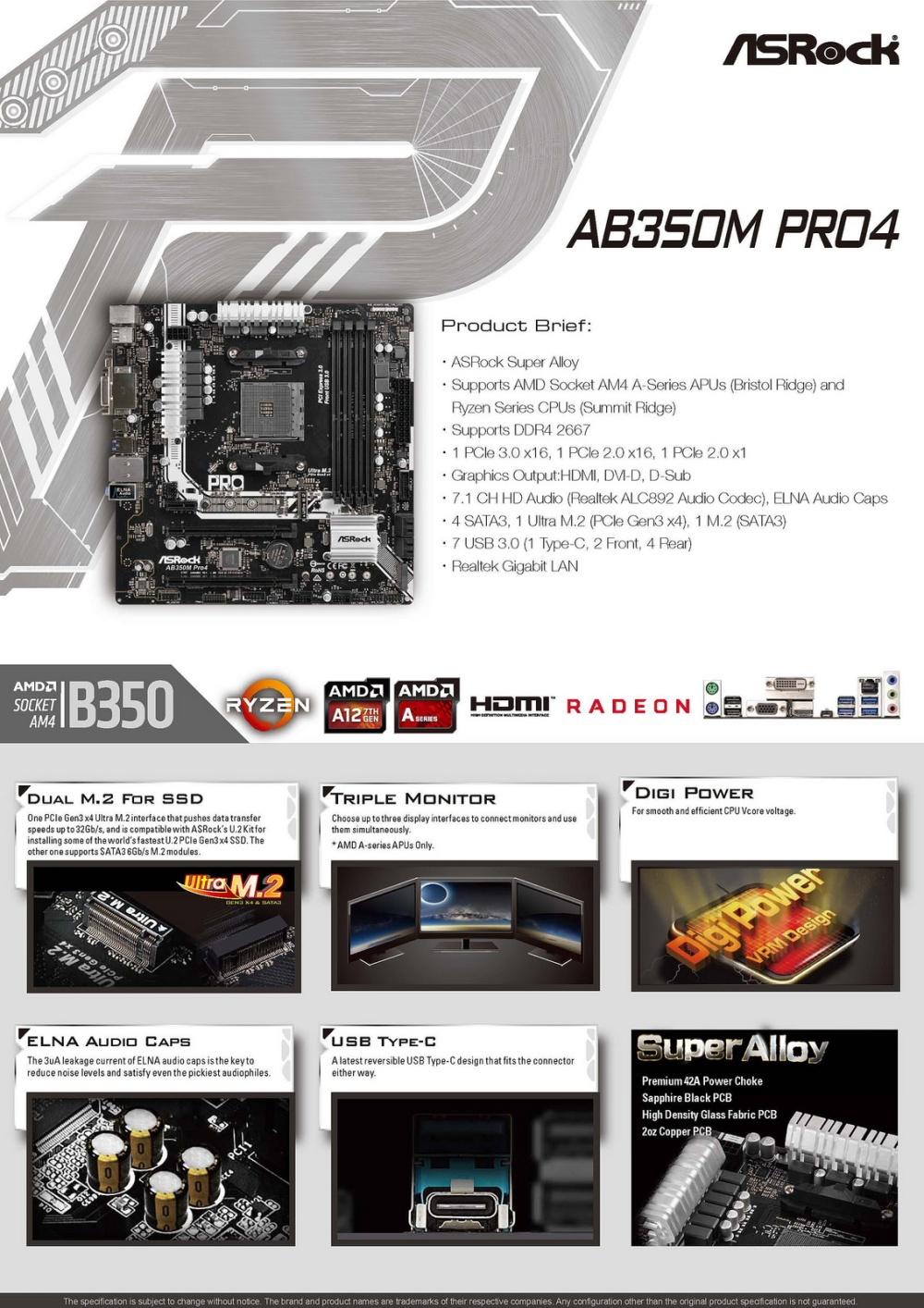 Asrock B450m Pro4 Power Switch