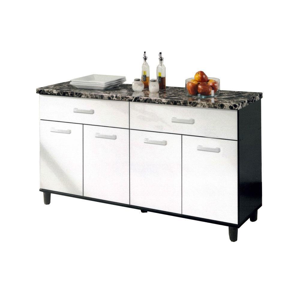 Megafurniture Clarissant Kitchen Cabinet Free Shipping
